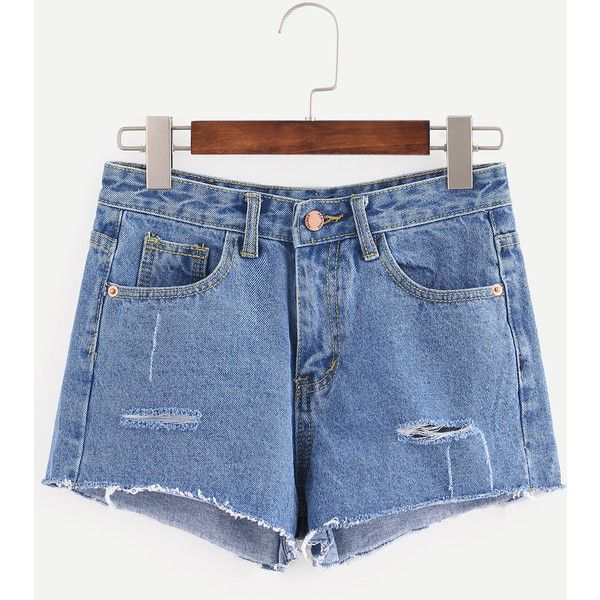1000  ideas about Ripped Jean Shorts on Pinterest  Jean shorts