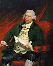 1790 Portrait - Entrepreneur - Father of the Industrial Revolution.............. Sir Richard Arkwright (1732-1792)