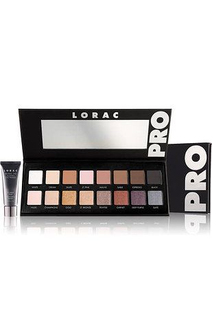 Lorac Eyeshadow Palettes are very pigmented and easy to blend.