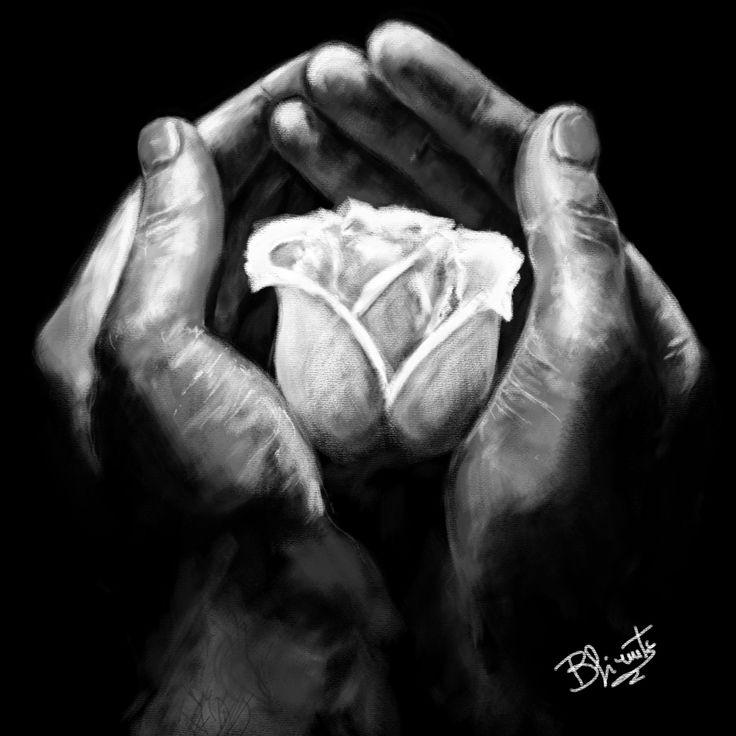 le mani raccontano la vita di una persona