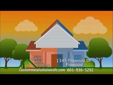 asphalt shingles vs metal roofing mississippi by custom metal solutions llc