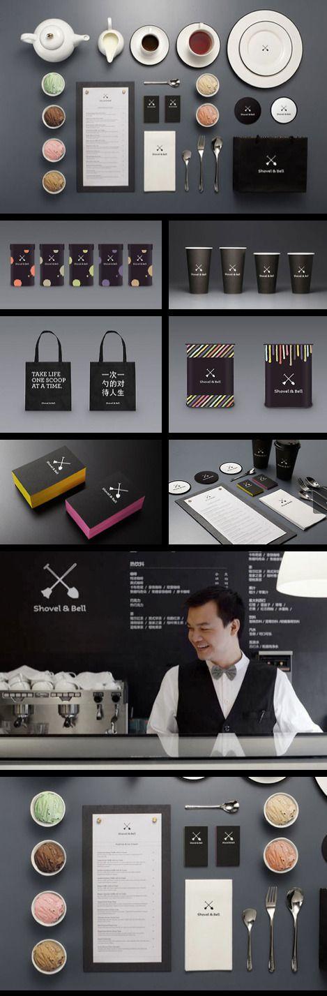 Cool Brand Identity Design. ShovelBell. #branding #brandidentity [http://www.pinterest.com/alfredchong/]