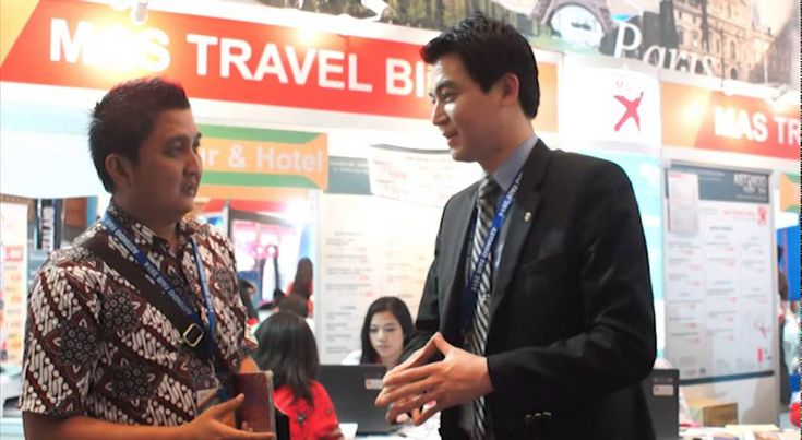 MAS Travel Biro Tourism Partners ( Korea ) on Astindo Fair 2014
