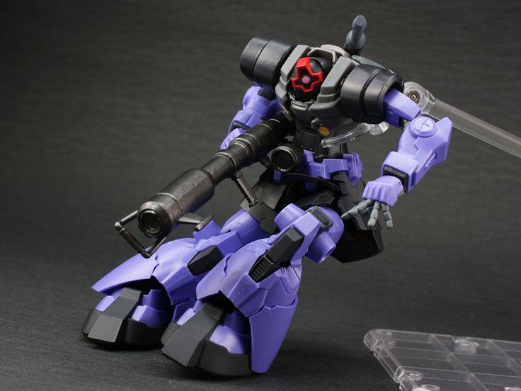 GUNDAM GUY: Banpresto: Gundam Series S.C.M. Black Tri Star ~ Dom - Review