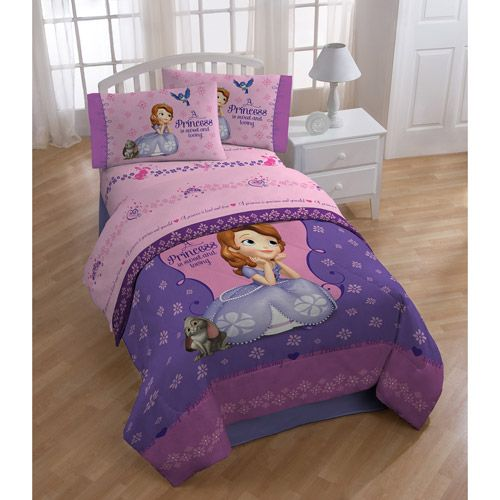 Disney Sofia the First Polyester Bedding Sheet Set: Kids' Rooms : Walmart.com