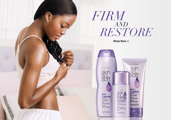 SKIN SO SOFT Firm & Restore, restores skin's youthful appearance. Now with Babassu Oil. Experience delicate blossoms and sheer florals. Makes skin look and feel dramatically firmer and tighter. 11.8 fl. oz. Regularly $8. Shop online with FREE shipping with any $40 online Avon purchase. #Avon #CJTeam #Sale #SkinSoSoft #Lotion #C8 #Firm&Restore #FirmRestore #Avon4Me #FirmAndRestore Shop Avon Skin So Soft online @ www.TheCJTeam.com
