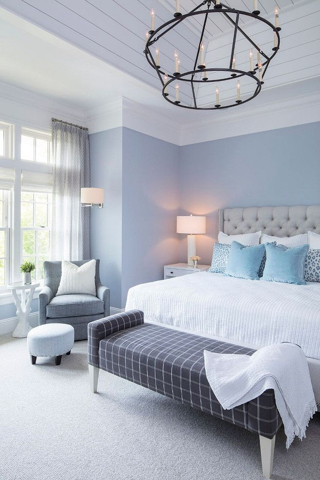 Luxury Bedroom Ideas All The Bedroom Design Ideas You Ll Ever Need Find Your Style And Also Devel Blue Bedroom Walls Blue Master Bedroom Bedroom Arrangement