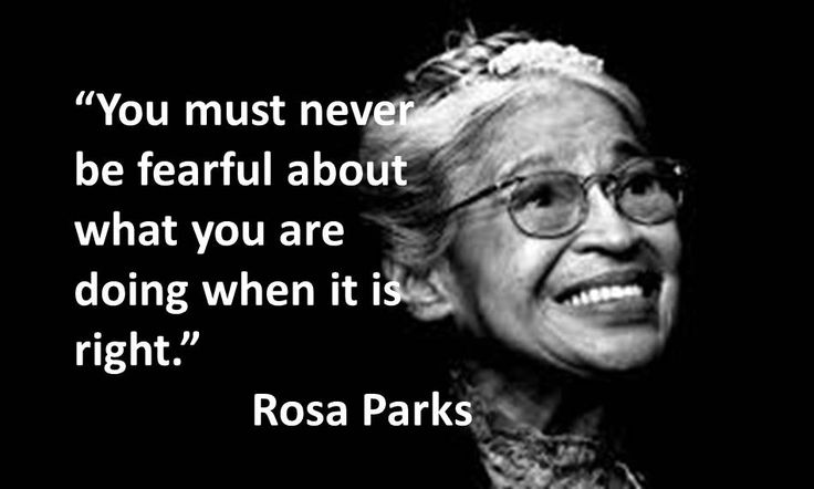 Black History Month and Hate Crime Awareness Week – thanks Rosa ...