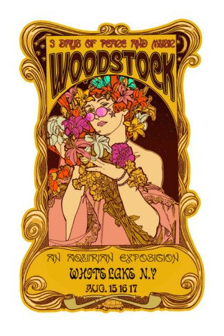 Woodstock Premium Poster