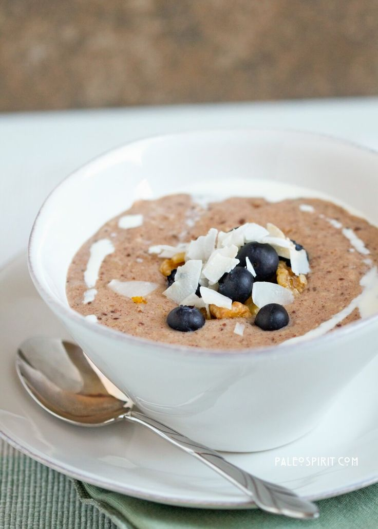 Paleo Breakfast Porridge Recipe