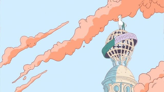 French illustrator Ugo Gattoni creates mystical, surreal new scarf design for Hermès accompanied by a beautiful new animation.