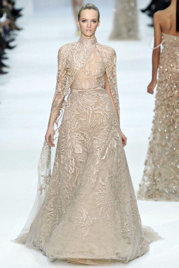 Coloured Wedding Dress from Elie Saab 2012-2013