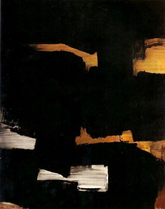 """Pierre Soulages """"Du noir à l'outrenoir"""", 2005"""