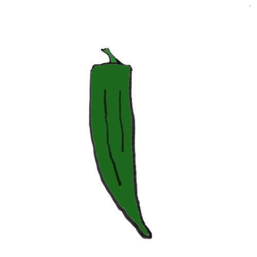 Sonora Anaheim Pepper 77 day.  A mild long, green chili pepper that is a great choice for making chili rellenos.  The can grow very large and are thicker than most chili peppers.
