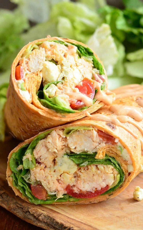 Einfache Chicken Wrap Rezepte für ein köstliches Mittagessen – #chicken #ein #…