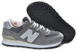 Comprar Tienda Espa a New Balance 574 Gris hombres zapatillas Outlet baratas