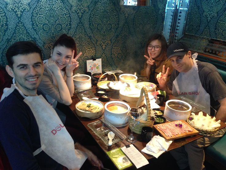 Hot pot in Shanghai !