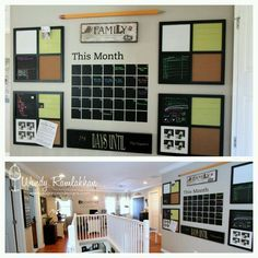 family schedule board - Google Search