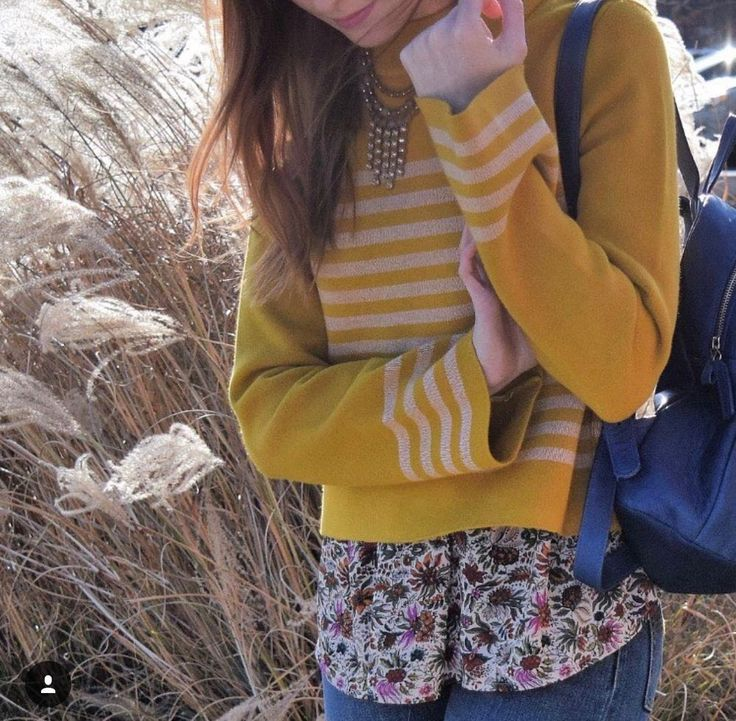 NWT $98 Anthropologie Structured Stripe Top Sweater Moth SP Small Petite Yellow  | eBay