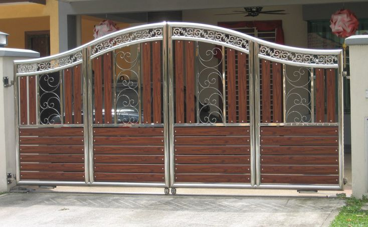 10 Best Articles Driveway Gates And Fences Images On