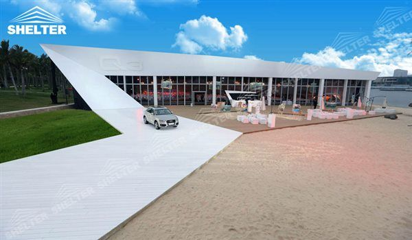 SHELTER 20 by 40 tent - Thermo Tent - Inflatable Tents - Commercial Event Marquee - Flat Top Trade Show Marquees for Sale - 2