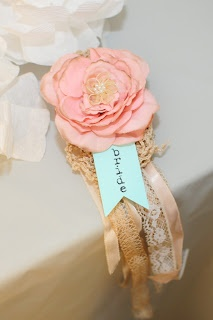 "Vintage bridal shower ideas at ""accessorize your life!"" Message me if you are interested in ordering one"