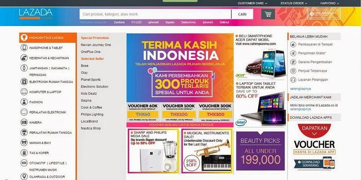 Pengalaman Saya Saat Berbelanja Online di Lazada Indonesia