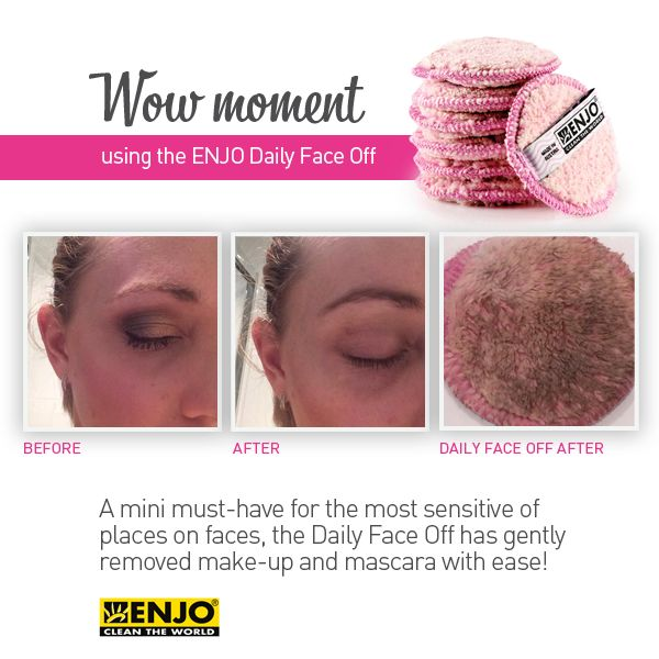 Our fabulous Daily Face Off removes makeup perfectly and is great for sensitive skin.