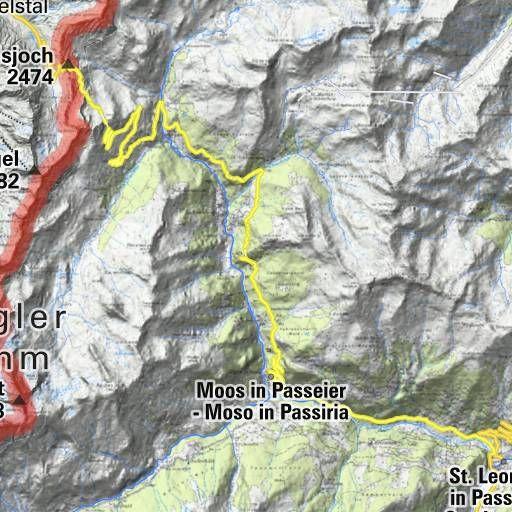 bergfex Touren St. Leonhard im Passeiertal: Wanderung St. Leonhard im Passeiertal