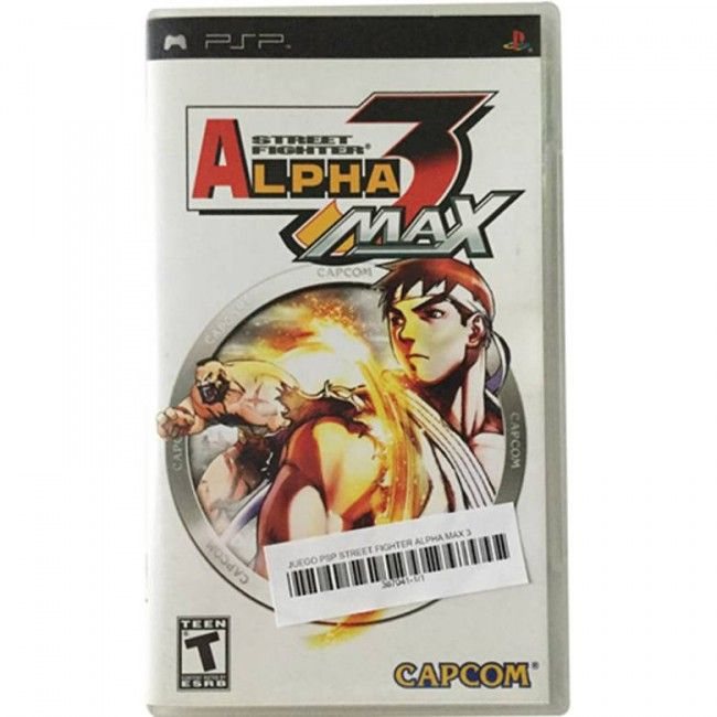 Juego PSP Street Fighter Alpha Max 3
