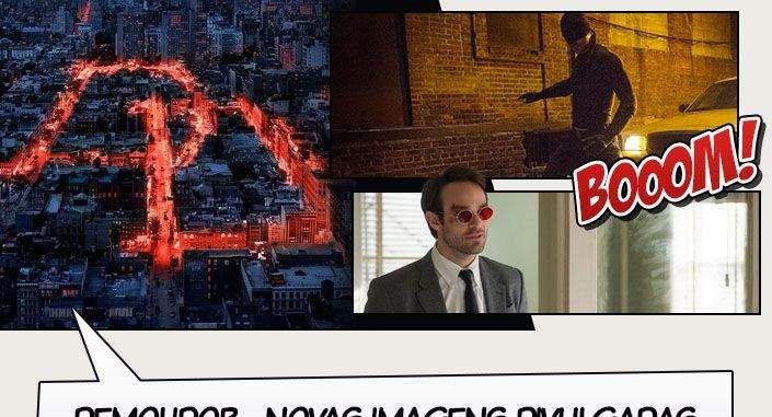A Netflix divulgou através de suas redes sociais duas novas imagens da série Demolidor. Nelas podemos ver algumas cenas do seriado que estreará dentro de alguns dias. Daredevilestreia dia 10 de abril na Netflix! Fonte: CB