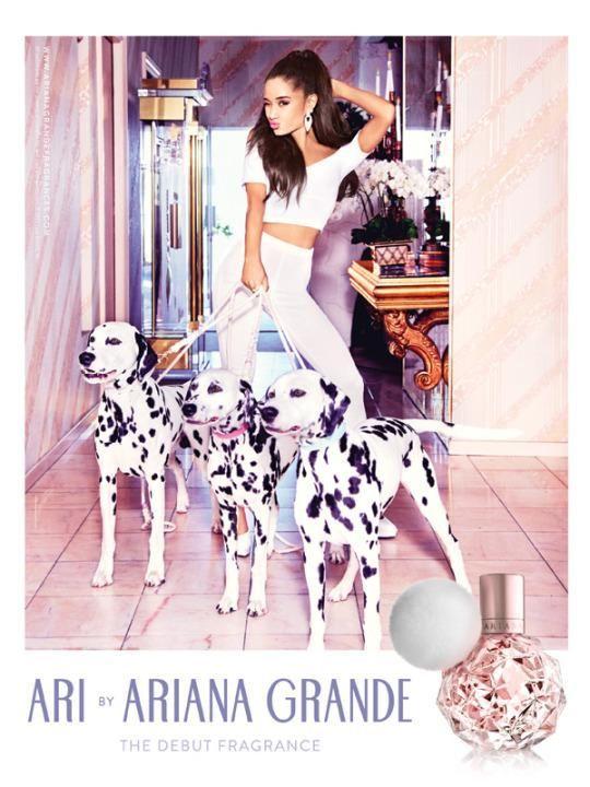 Image result for ariana grande fragrance
