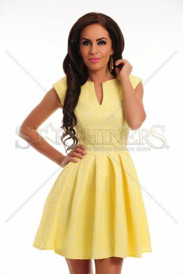 Rochie Polished Harmony Yellow