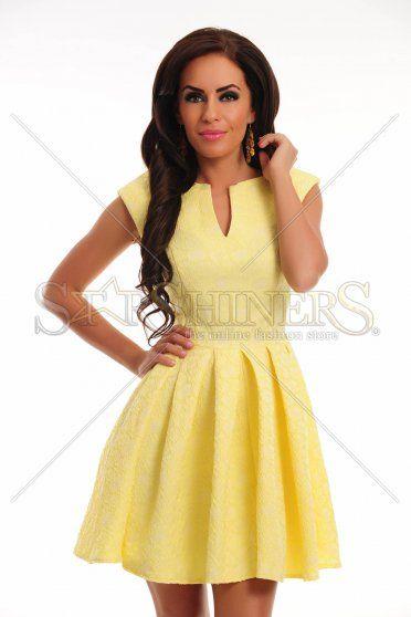 Rochie Polished Harmony Yellow