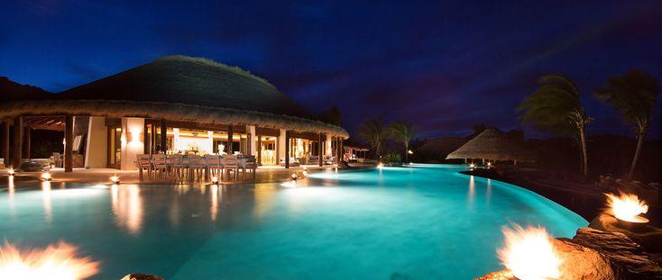 La Isla Mosquito, cuenta con piscinas de borde infinito, tecnología de punta y un entorno natural de ensueño