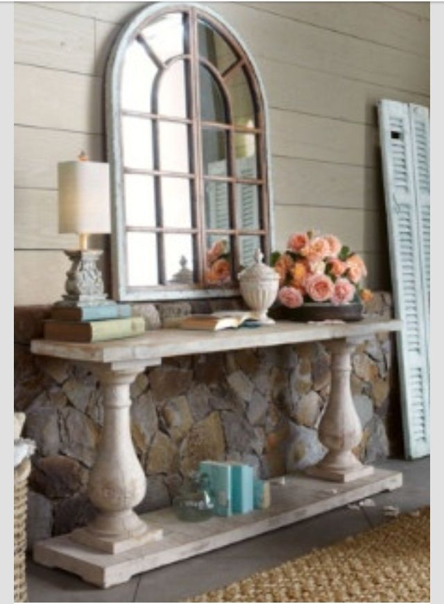 Console table decor dream house ideas pinterest