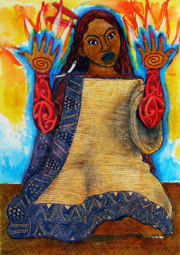 Mahuika is a Māori fire deity. Generally, Mahuika is female and wife of the god Auahitūroa. Māui stole fire from the fingernails of Mahuika