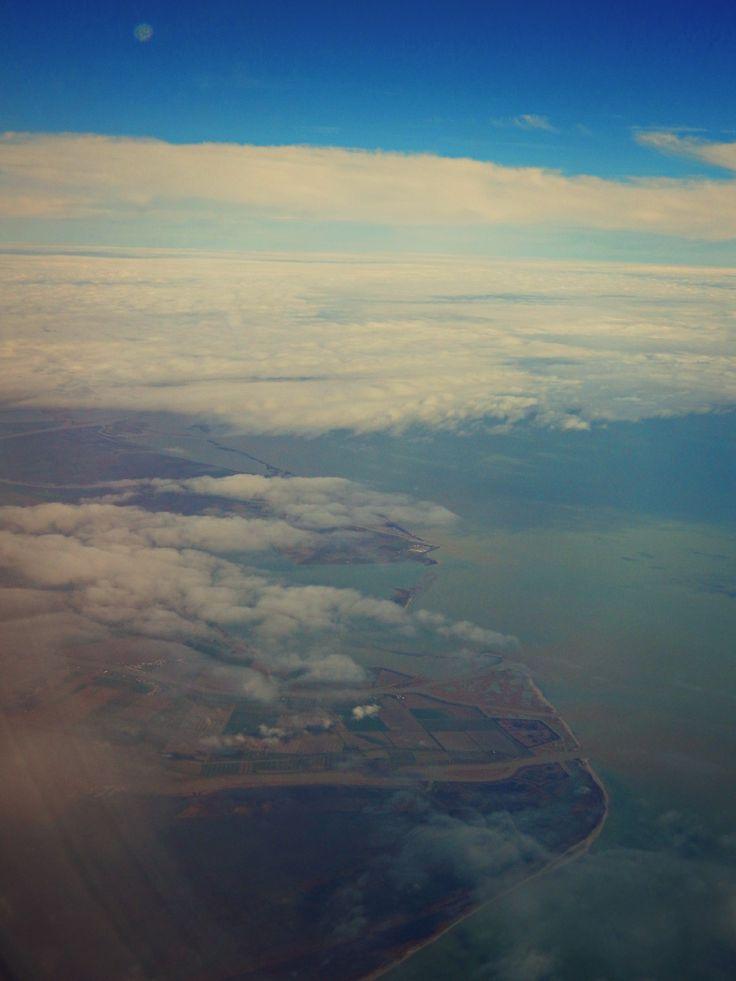 In volo, Delta del Po