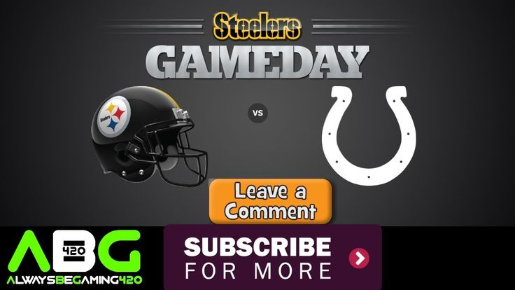 Pittsburgh Steelers @ Indianapolis Colts | NFL Week 10 Game | Viewer Requested Video | Madden - YouTube https://youtu.be/IJW8ggpG5pw