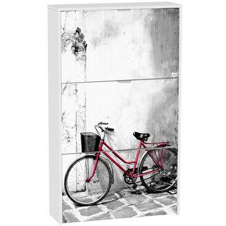 Zapatero 3 Puertas Mod. Bici Roja 75 cm