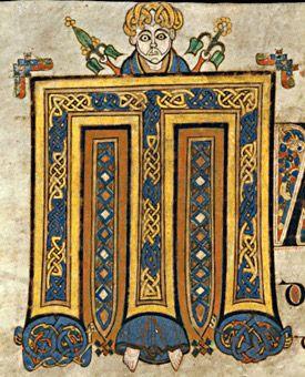 Book of Kells  VII Century, Ireland / Scotland.