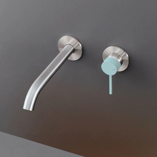 CEA Design - Gastone, bateria prysznicowa z możliwością wyboru koloru uchwytu mieszacza.
