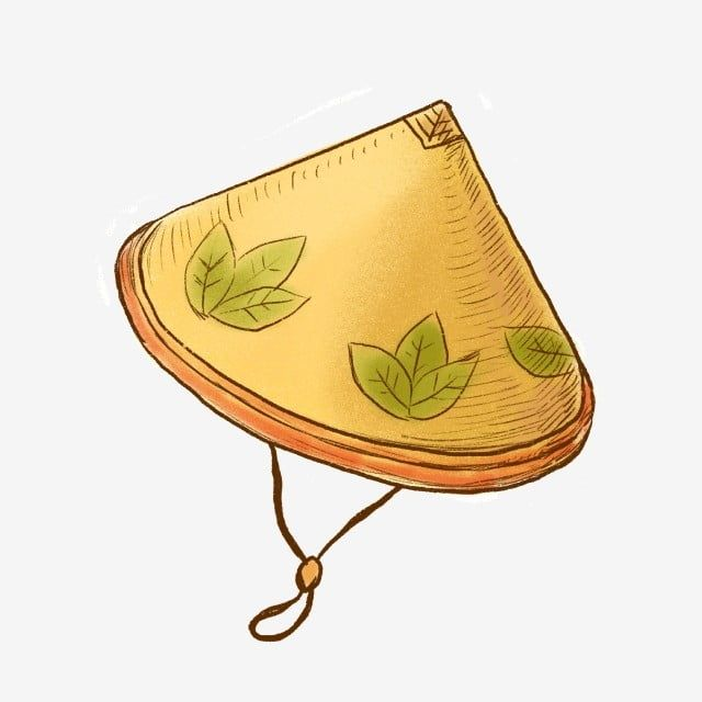 Vietnam Yellow Bucket Png Free Material Brawl Hat Cartoon Brawl Png Transparent Clipart Image And Psd File For Free Download Vietnam Art Vietnam Leaf Clipart