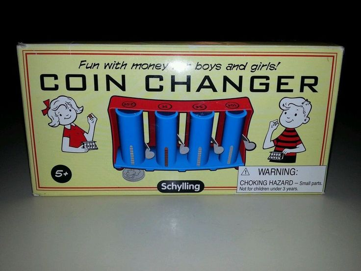 Schylling Coin Changer Toy ~ New in Box!  #Schylling