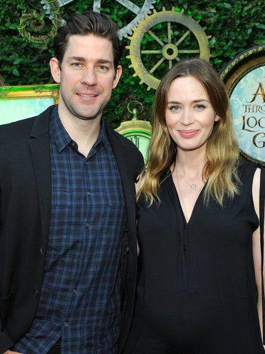ジョン・クラシンスキー(John Krasinski)、エミリー・ブラント(Emily Blunt ) photo : Getty Images