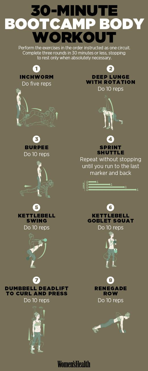 30 minute bootcamp workout