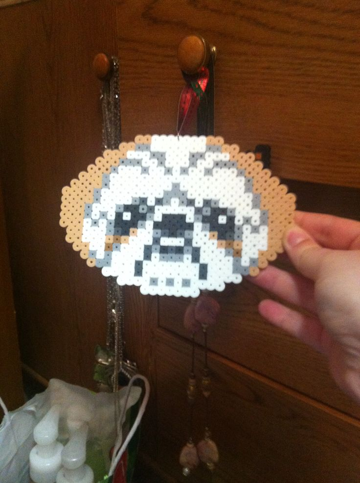 Shih tzu face. $7. | My own Perler Bead art. | Pinterest ...