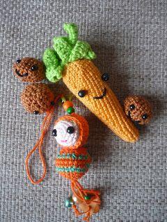 Tussen HAAKjes: Patroon wortel en pepernoten