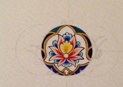 Hatai boyama tekniği