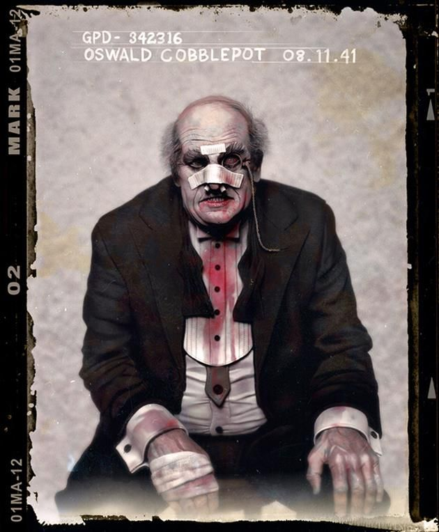 Canada based artist Jason Mark tapped the 1920s for his new Batman super villain mugshot collection. (Penguin)